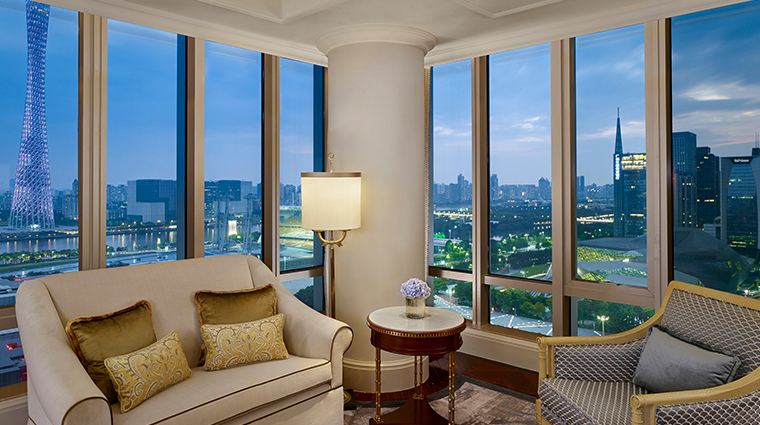 the ritz carlton guangzhou premium opera view room