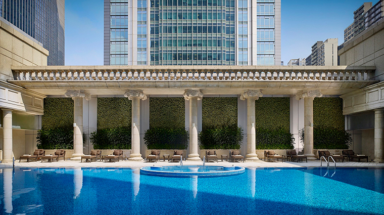 the ritz carlton guangzhou roman outdoor pool
