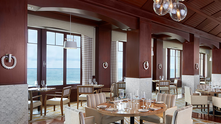 the ritz carlton half moon bay Navio main dining room