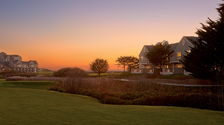 the ritz carlton half moon bay dusk