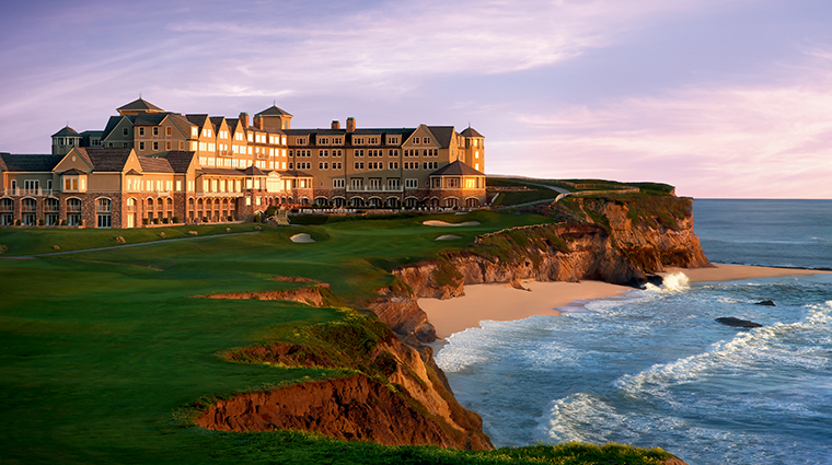 the ritz carlton half moon bay exterior