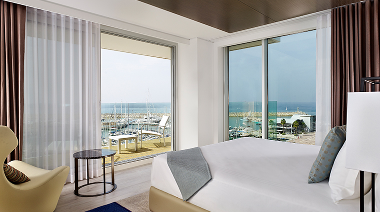 the ritz carlton herzliya guestroom