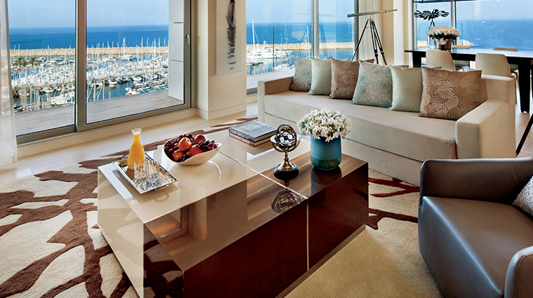 the ritz carlton herzliya living room