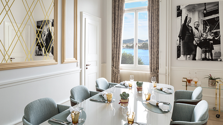 the ritz carlton hotel de la paix geneva grace kelly suite dining room