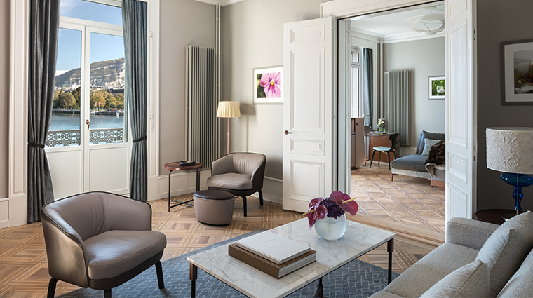 the ritz carlton hotel de la paix geneva mont blanc suite living room