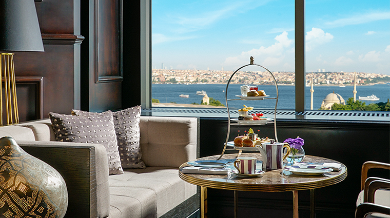 the ritz carlton istanbul atelier high tea