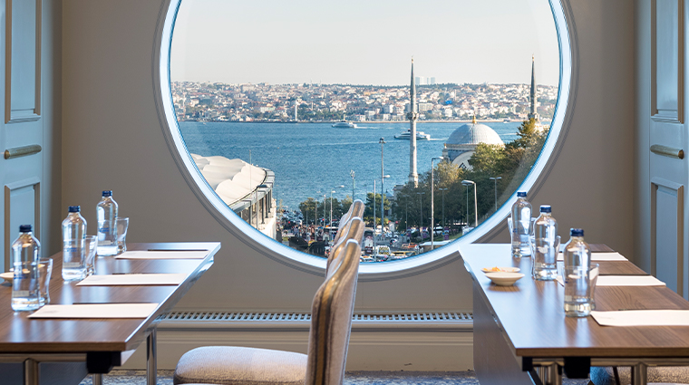 the ritz carlton istanbul meeting room