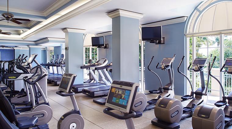 the ritz carlton key biscayne miami fitness center overall