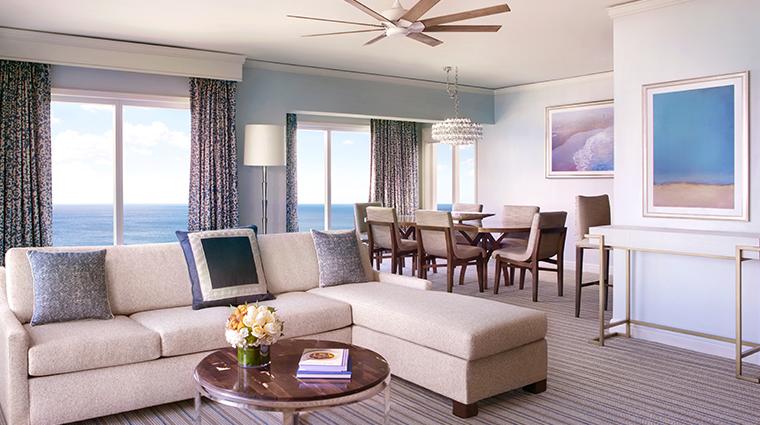 the ritz carlton key biscayne miami suite living room