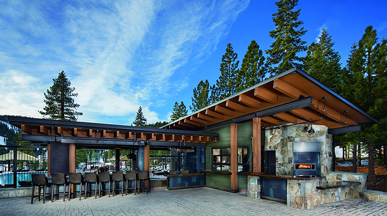 the ritz carlton lake tahoe bar lounge poolside