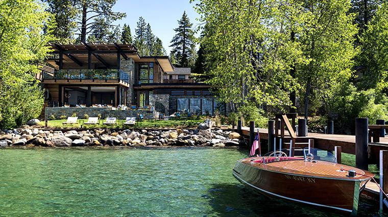the ritz carlton lake tahoe exterior water