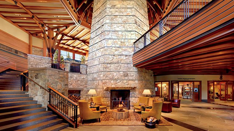 the ritz carlton lake tahoe lobby