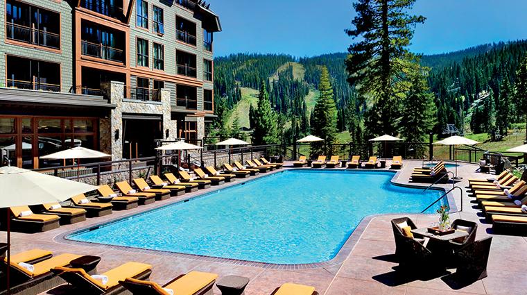 the ritz carlton lake tahoe pool