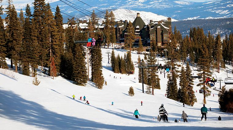the ritz carlton lake tahoe skiing