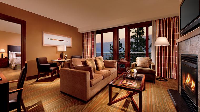 the ritz carlton lake tahoe suite living room