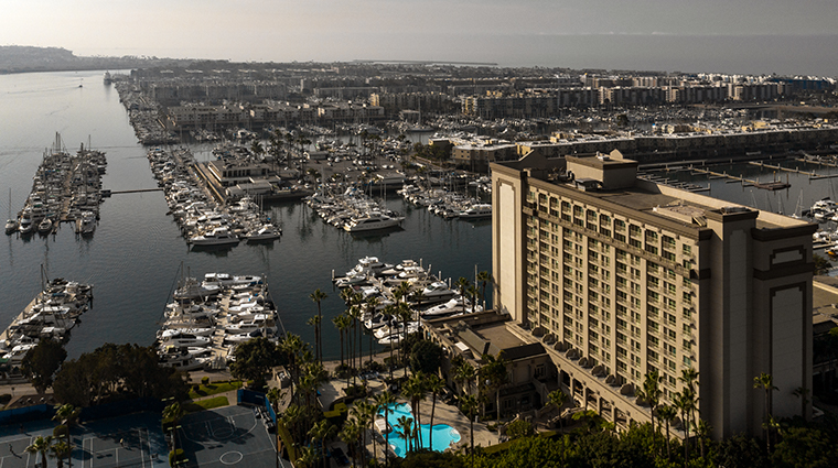 the ritz carlton marina del rey exterior