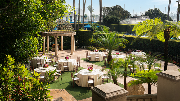 the ritz carlton marina del rey rosegarden