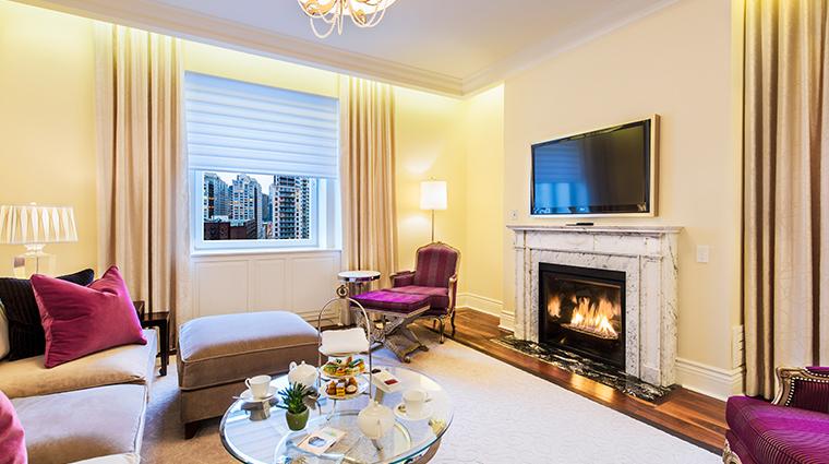 the ritz carlton montreal one bedroom suite