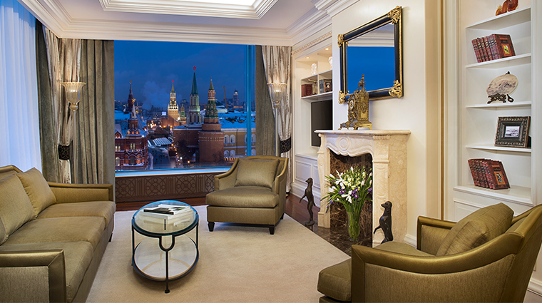 the ritz carlton moscow RC suite living room