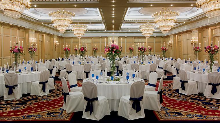 the ritz carlton moscow ballroom