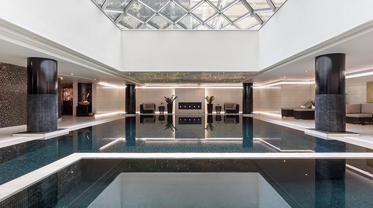 the ritz carlton moscow spa pool