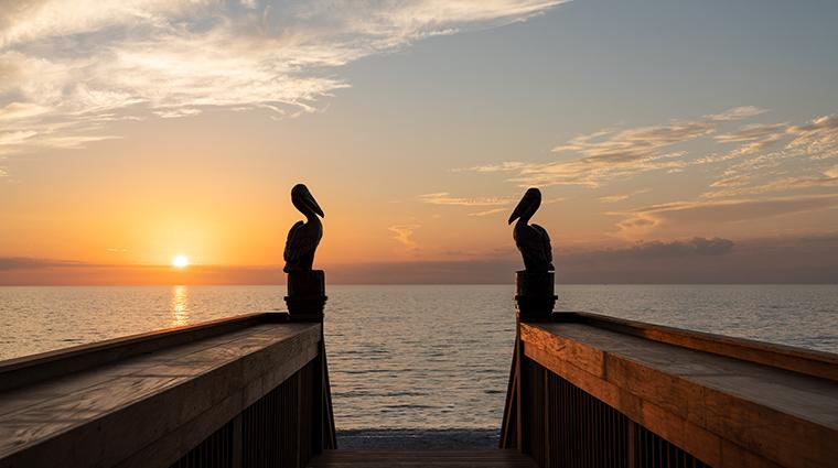 the ritz carlton naples sunset boardwalk