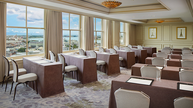 the ritz carlton new orleans cresent view meeting room