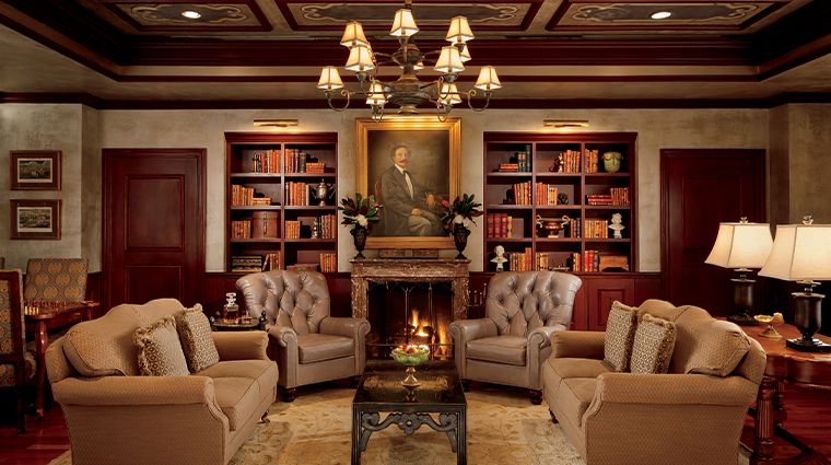 the ritz carlton new orleans fireplace