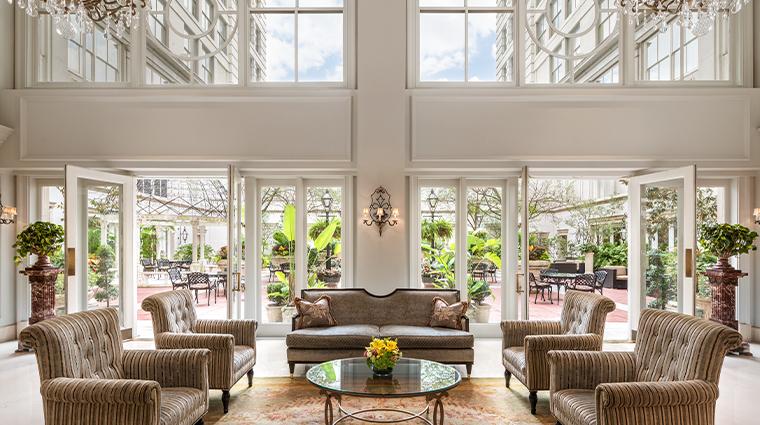 the ritz carlton new orleans lobby