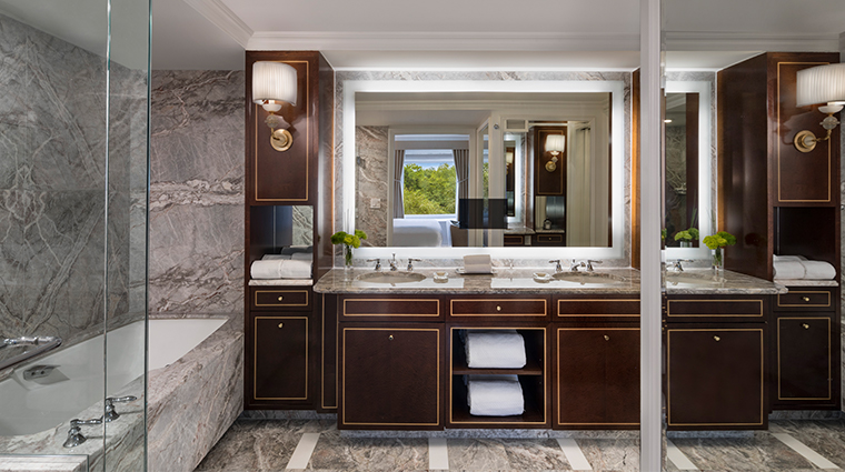 the ritz carlton new york central park artists gate suite bathroom