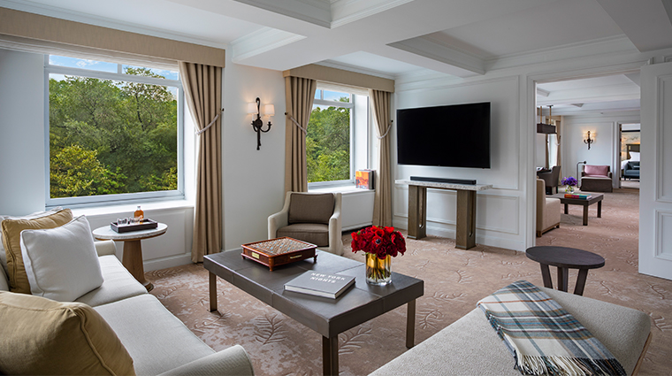 the ritz carlton new york central park artists gate suite living room