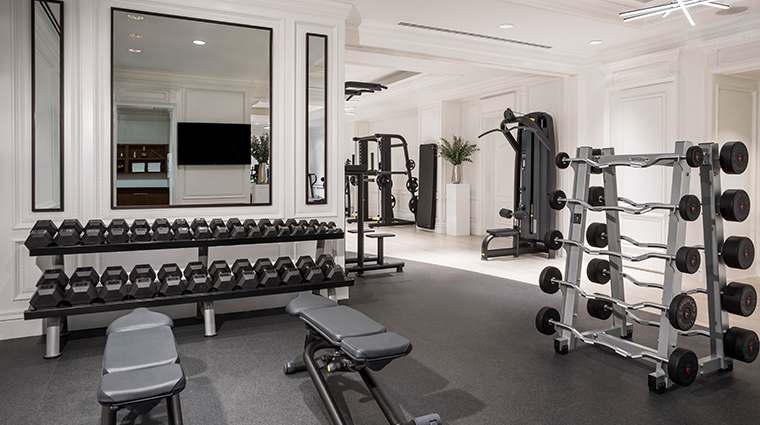 the ritz carlton new york central park fitness center