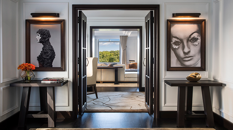 the ritz carlton new york central park royal suite entry