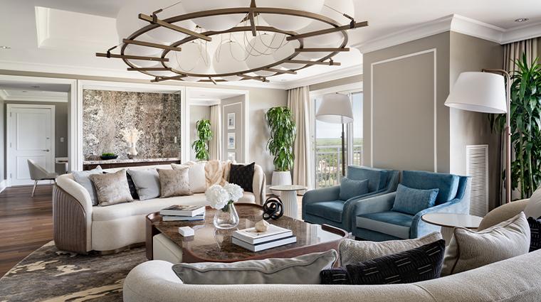 the ritz carlton orlando grande lakes renovated royal suite living room