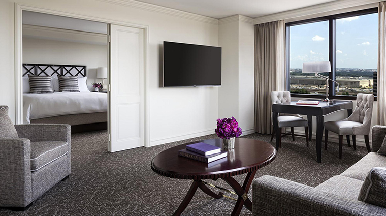the ritz carlton pentagon city executive one bedroom suite