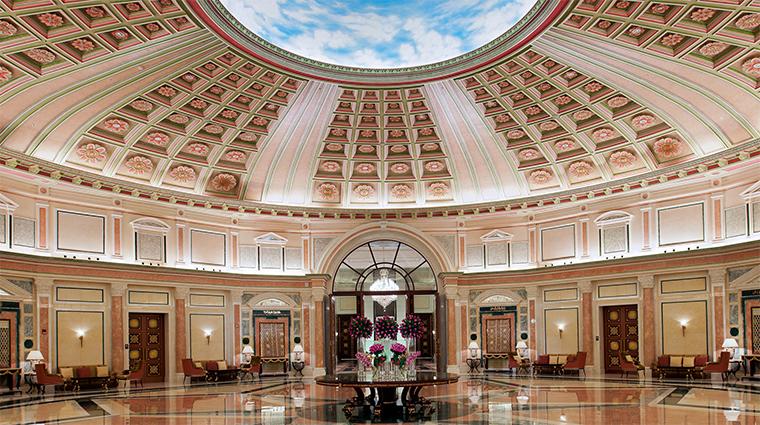 the ritz carlton riyadh ballroom foyer