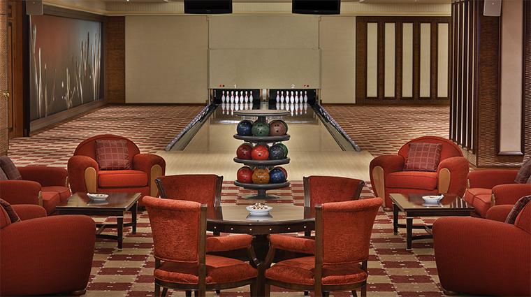 the ritz carlton riyadh strike bowling alley