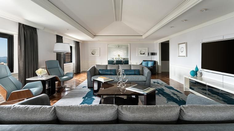 the ritz carlton san francisco Suite bedroom