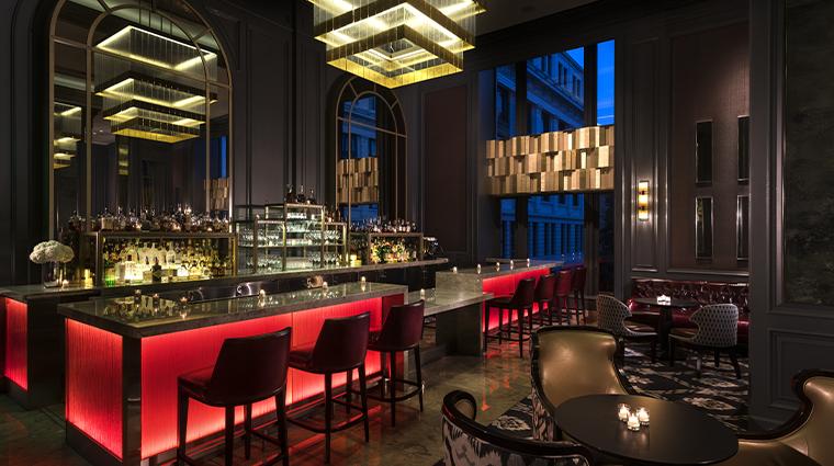 the ritz carlton san francisco lobby bar