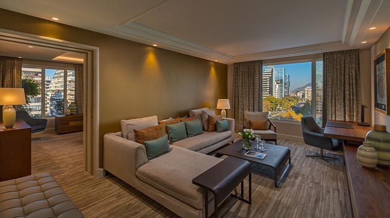 the ritz carlton santiago master suite living area