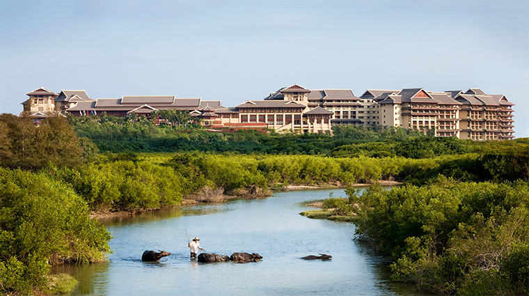 the ritz carlton sanya exterior property grounds