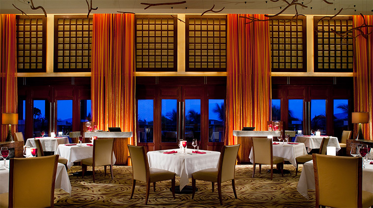the ritz carlton sanya sofia dining room