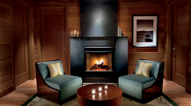 the ritz carlton spa lake tahoe cabin relaxation room