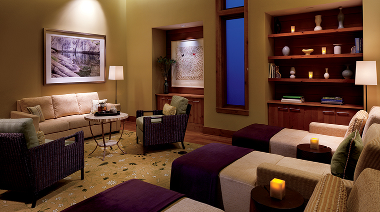 the ritz carlton spa lake tahoe relaxation room