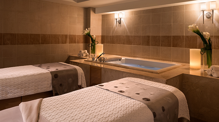 the ritz carlton spa south beach couples treatment room