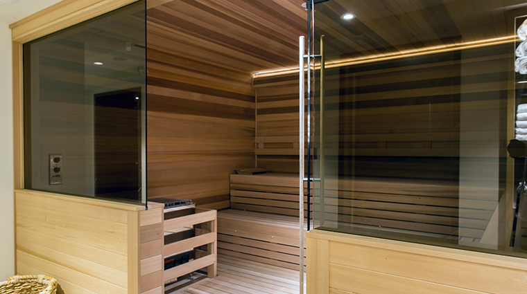 the ritz carlton spa south beach sauna
