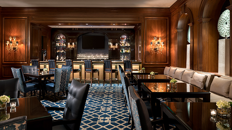 The Ritz Carlton St Louis bar wide