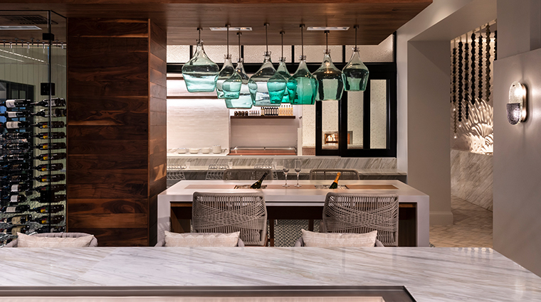the ritz carlton st thomas Alloro Green Pendants