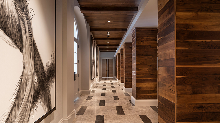 the ritz carlton st thomas Prefunction Corridor
