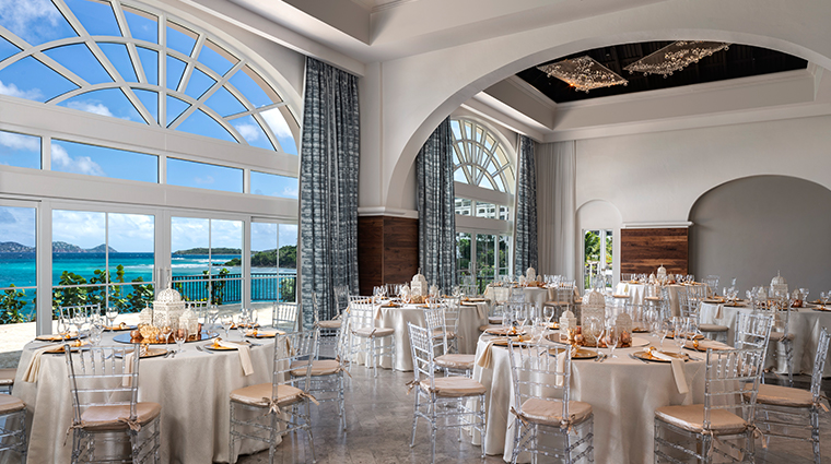 the ritz carlton st thomas great bay ballroom